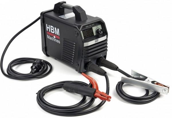 Schweißinverter / Schweißmaschine 200 ARC mit Digitalanzeige