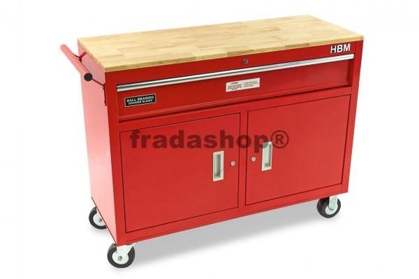 Werkzeugwagen, Werkbank 117cm mit Schublade