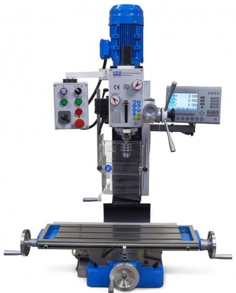 Metallfräsmaschine BF30 16mm LCD-Anzeige
