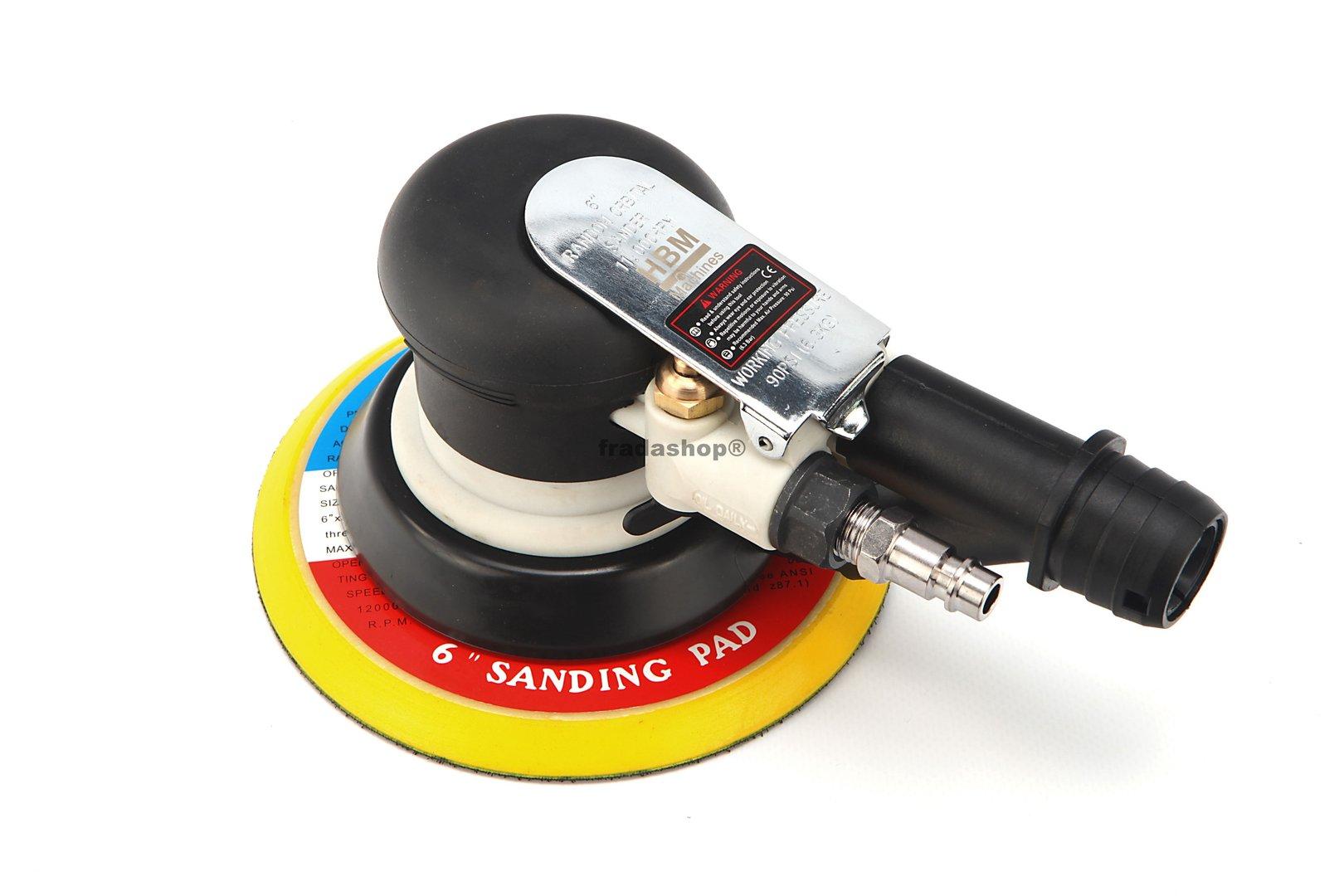 pn. exzenterschleifer 150mm, vakuum | fradashop