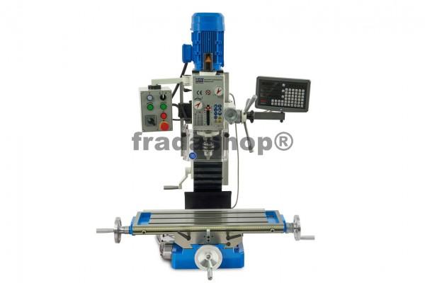 Zahnradgetriebene Metallfräsmaschine 30 DRO PROFI