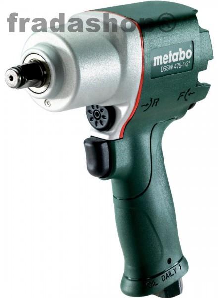"""Metabo DSSW 475-1 / 2 """"Druckluft-Schlagschrauber - 475 Nm"""