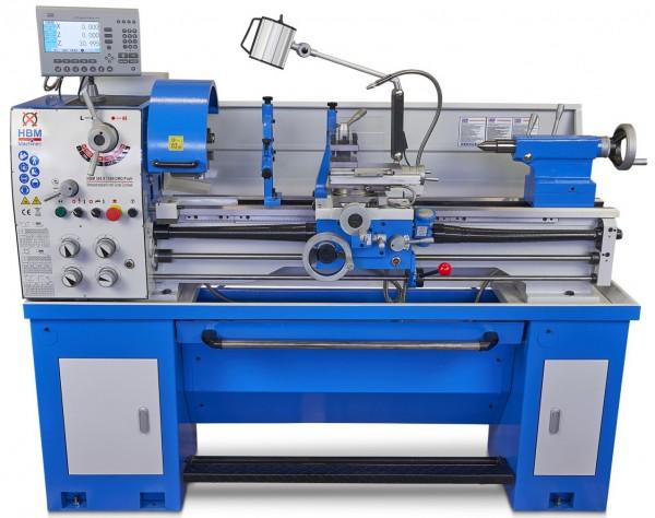 Metalldrehmaschine 360x1000mm Ø51mm LCD