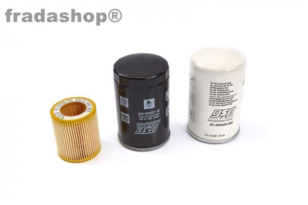 Filterset TBV Schraubenkompressoren Modell 2