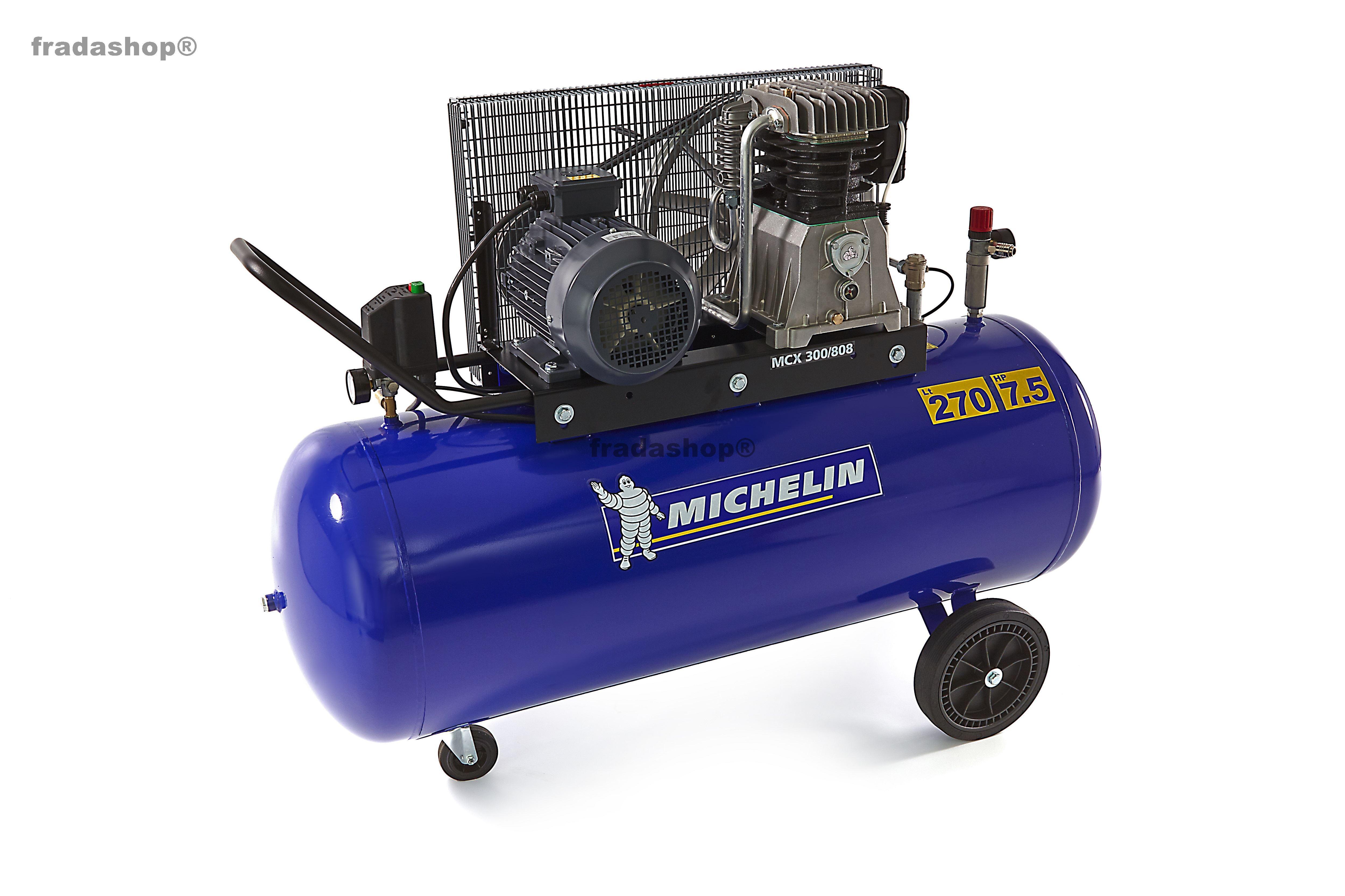 michelin 270 liter kompressor 7 5 ps fradashop. Black Bedroom Furniture Sets. Home Design Ideas