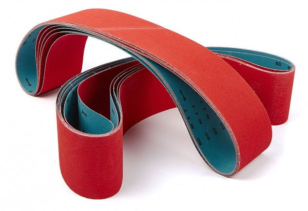 Keramik Schleifband rot 100 x 1220mm