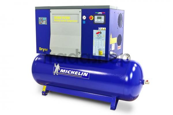Michelin 7,5 HP 270-Liter-Schraubenkompressor mit Trockner
