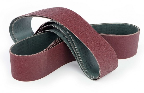 100 x 1220 K60 Schleifband Rot
