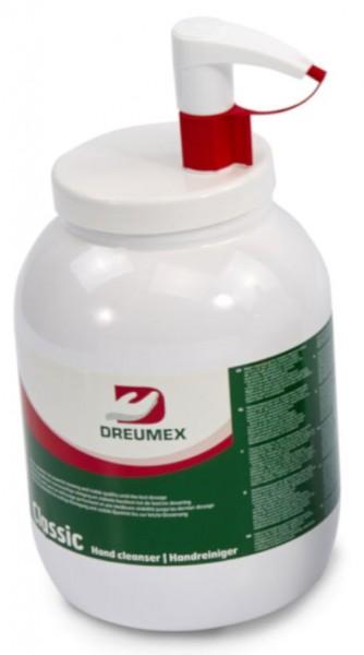 Handreinigungsgel mit Mikrokörnung Pumpflasche