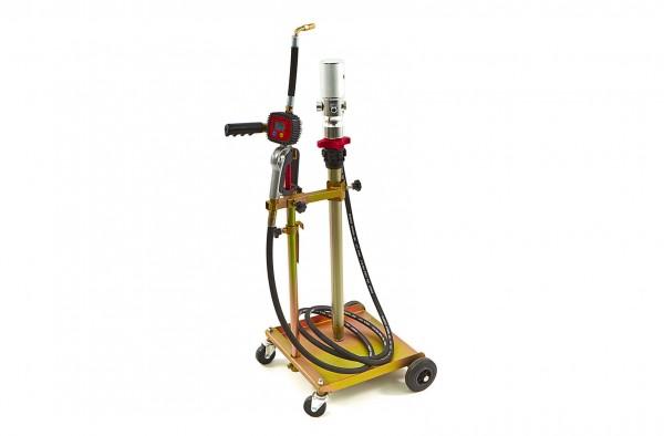 Mobile Ölfasspumpe für Fässer, Füllsystem von 50 - 60 Liter