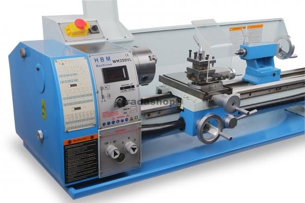 Drehmaschine 250 x 550 V/Frequenzumrichter