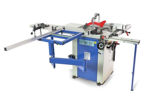Kreissäge mit verstellbarem Tisch 1600mm und Rolltisch