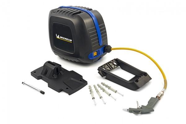 Luftschlauchtrommel mit 1,5 PS Kompressor
