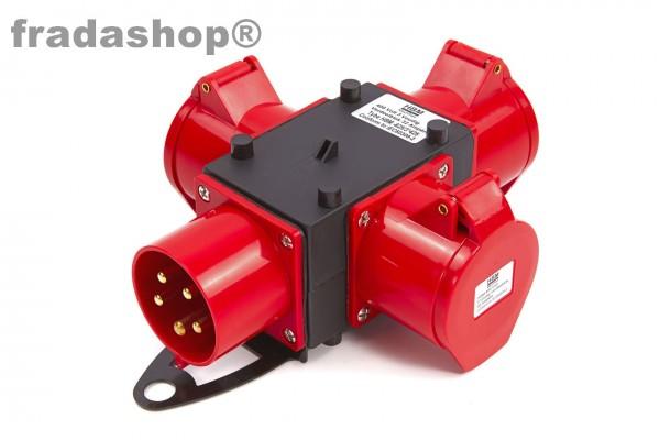 CEE 400V Verteilerblock 16A