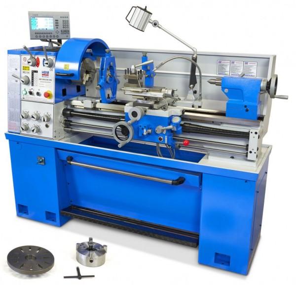 Metalldrehmaschine 400x1000mm Ø52mm LCD