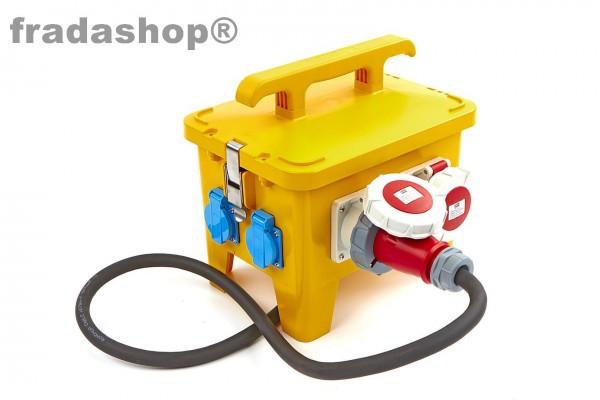 Strom-Verteilerblock 4 x 400 Volt /2 x 230 Volt, IP44