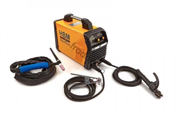Inverter Schweißgerät 200 WIG mit Digitalanzeige und IGBT-Technologie