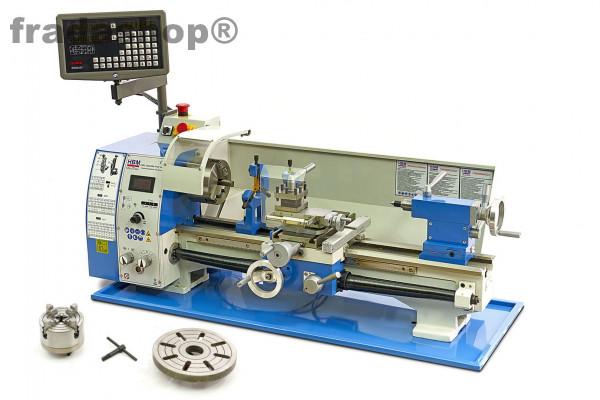 Metalldrehmaschine 250 x 550 Profi Vario DRO Complete
