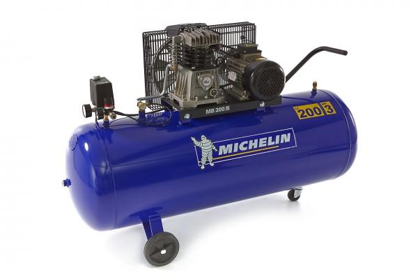 Michelin Kompressor 230V 200 Liter 250 L/min