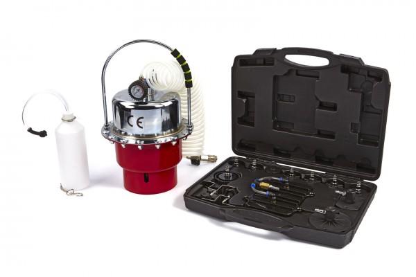 Bremsentlüfter / Druckluftentferner mit Adapterset