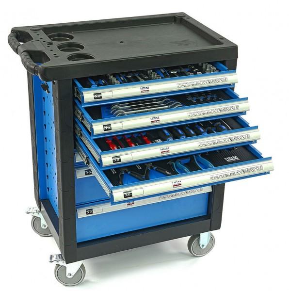 Premium gefüllter Werkzeugwagen 154 teilig-Copy