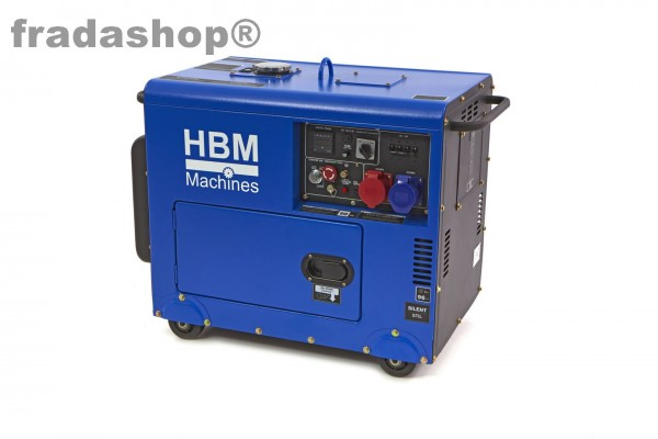 7900 Watt Standby Silent Diesel Power Generator / Aggregat