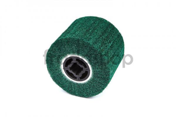 Nylon-Bahn-Schleifzylinder grün