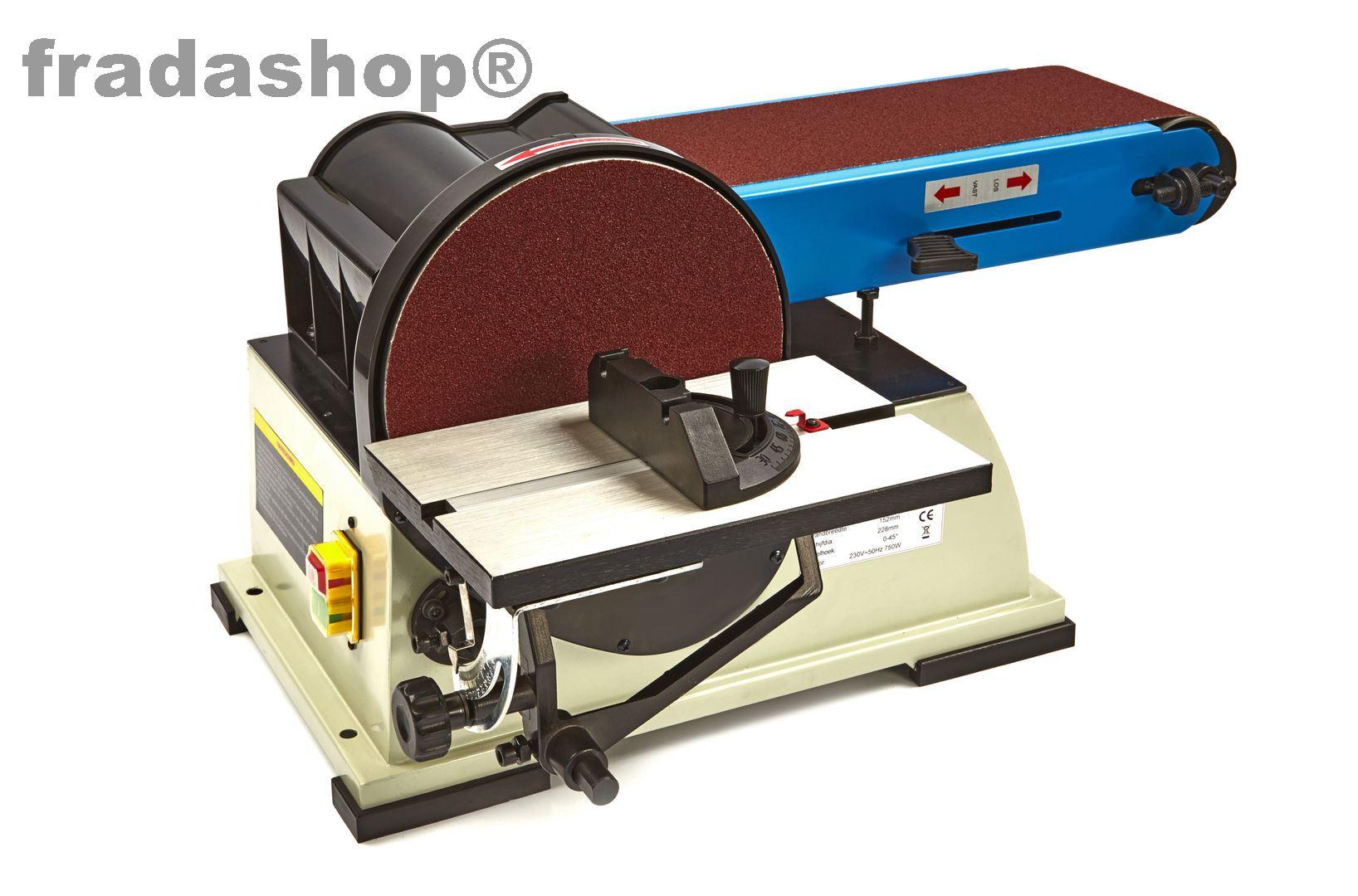 band und tellerschleifer 150x1220mm bandschleifer schleifen fradashop. Black Bedroom Furniture Sets. Home Design Ideas