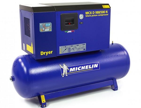 Michelin 10 HP 500 Liter Schalldichter Kompressor mit Trockner