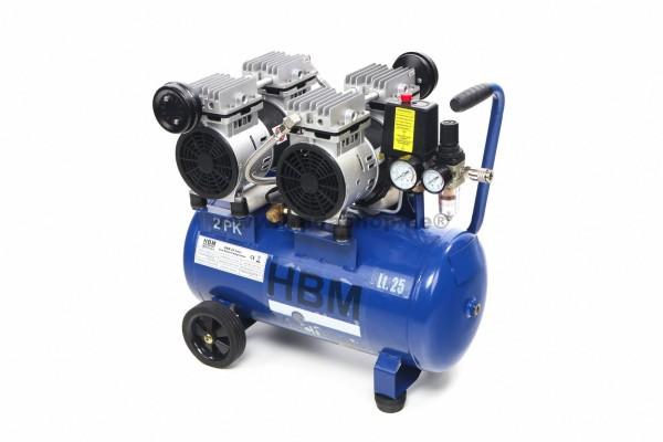 Leiseläufer-Kompressor 4/25l