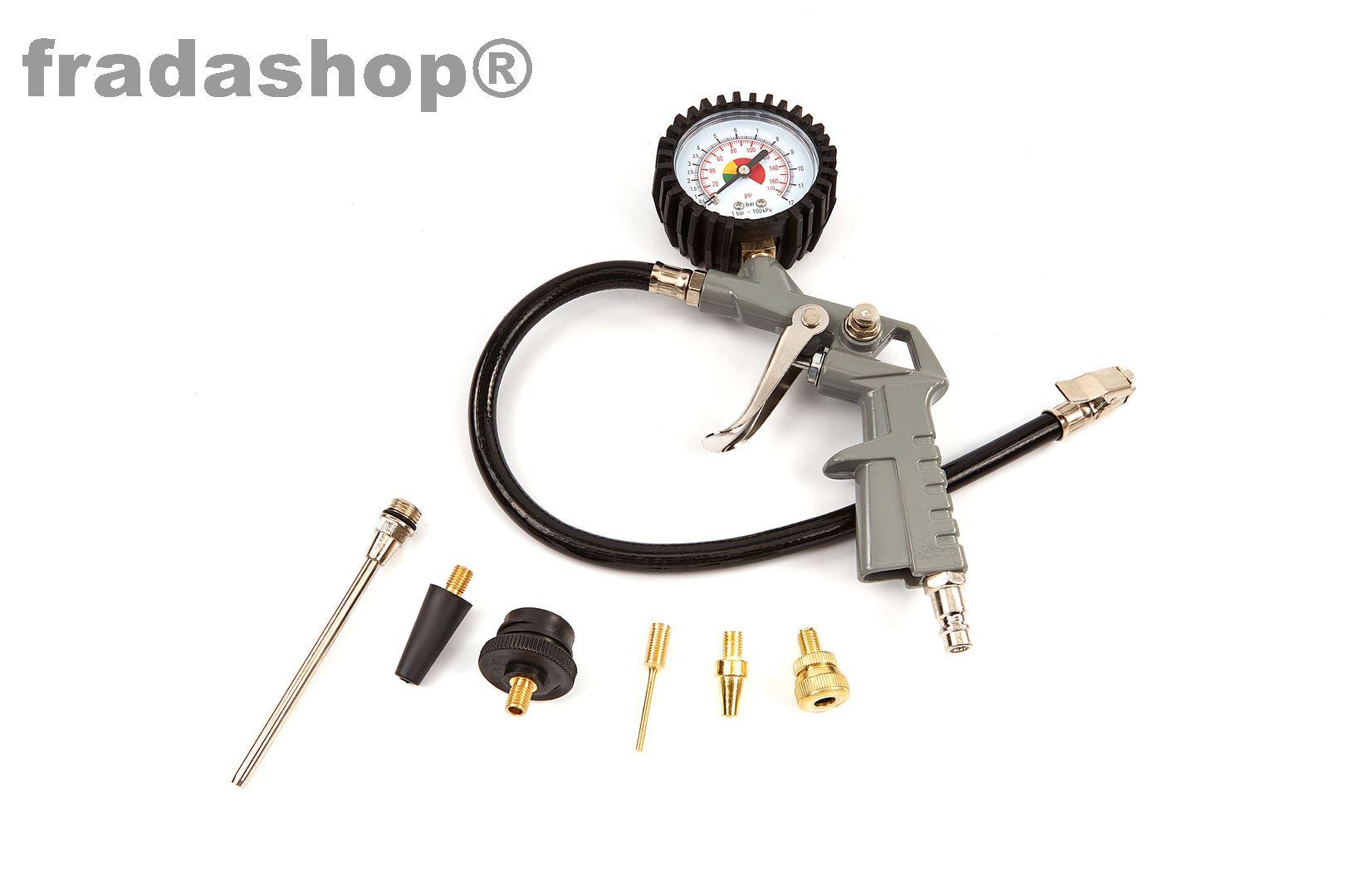 Kompressor Mit Zubehör : portabler kompressor mit zubeh r fradashop ~ Watch28wear.com Haus und Dekorationen