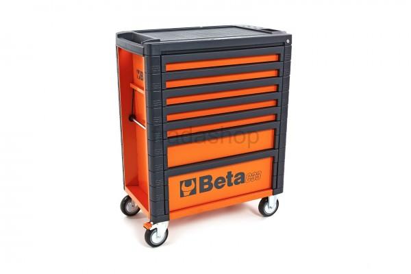 Beta C33 7 Schubladen Werkstattwagen Orange - C33 7/O
