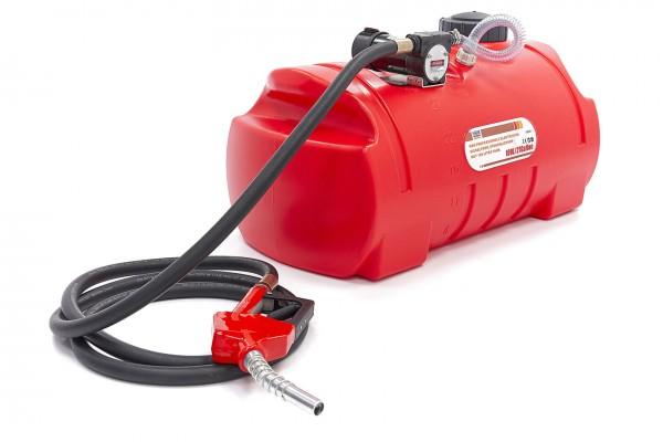 Profi-Elektro-Dieselpumpe, Heizölpumpe mit 100-Liter-Tank