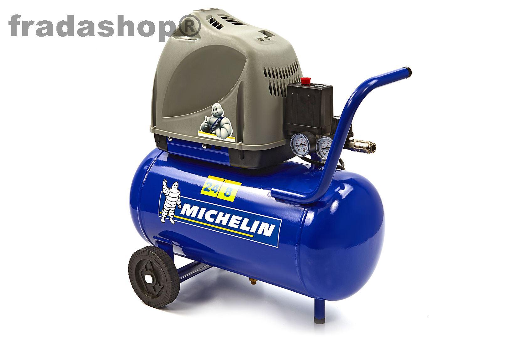 kompressor michelin 1 5 hp 24l mb 24 u angebote fradashop. Black Bedroom Furniture Sets. Home Design Ideas