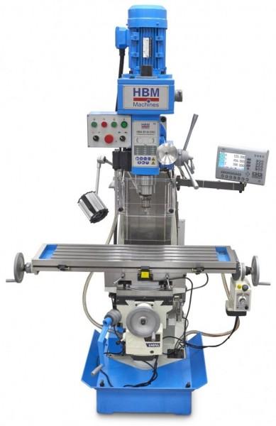 Metallfräsmaschine BF60 40mm LCD-Anzeige