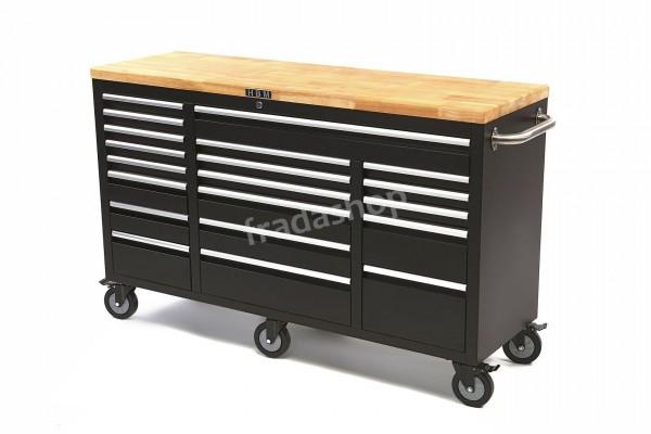 Werkstattwagen 20 Laden mit Holztisch