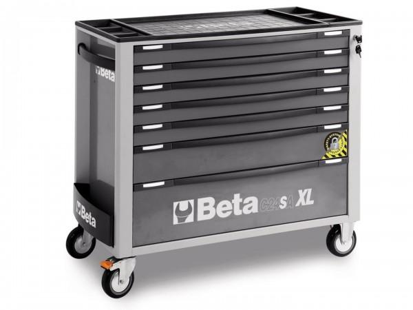 Beta 7 Schubladen XL Werkzeugwagen - C24SA-XL 7 / G