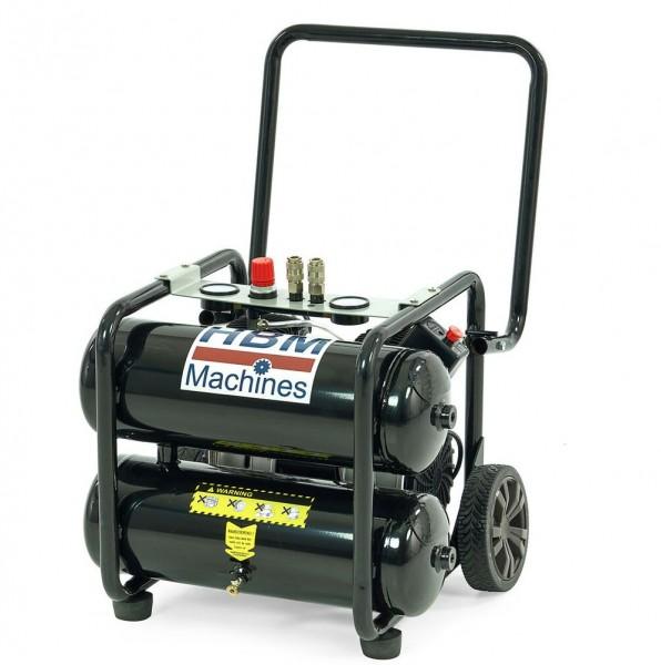 20 Liter 1.5 HP Mobiler Professioneller Low Noise Kopressor