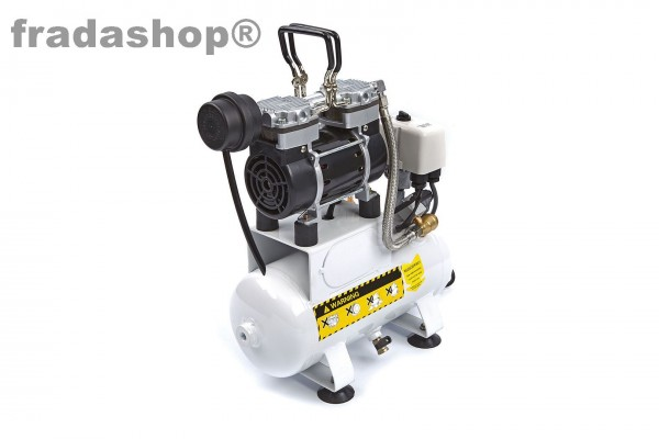 Airbrush Kompressor Leiseläufer 4l