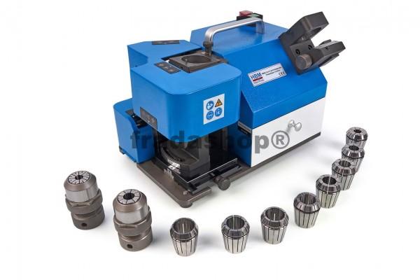 Schaftfräserschleifmaschine, Schaftfräser 12 - 30 mm, mit Zubehör
