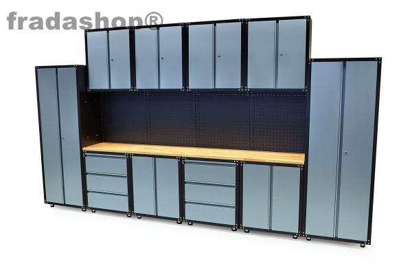 Modulare Werkstatteinrichtung 16tlg.