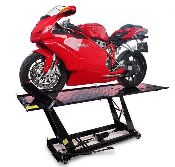 Motorradhebebühne bis 450 kg H/P schwarz