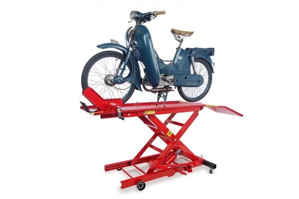 Motorradhebebühne bis 400 kg - Rot