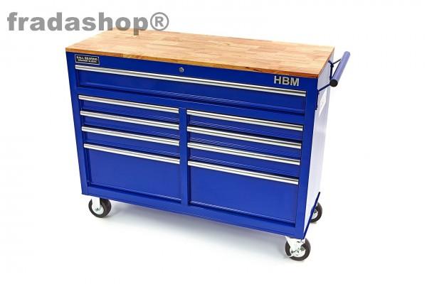 Werkstattwagen 112 blau