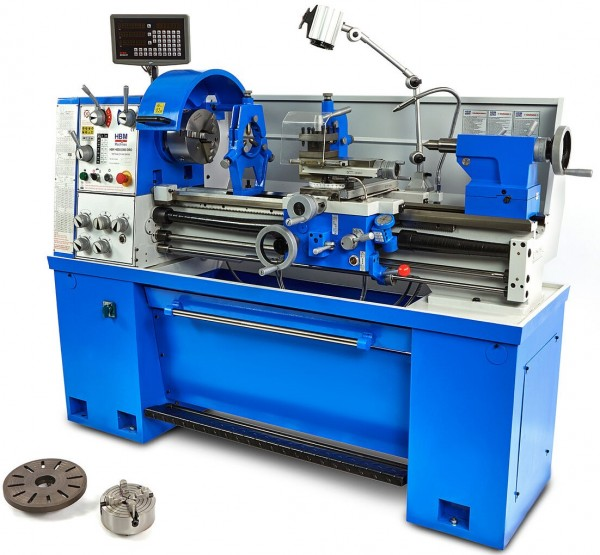 Metalldrehmaschine 400x1000mm Ø52mm 400V